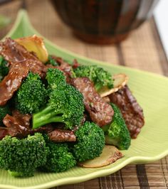 Chinese Beef Broccoli Recipe, just missing a few sprinkles of chia or flax seeds!!