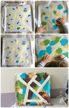 DIY : Choubidou a testé la peinture propre - Babysitter Educational Activities For Kids, Summer Activities For Kids, Toddler Activities, Diy For Kids, Crafts For Kids, Baby Crafts, Diy And Crafts, Arts And Crafts, Montessori Materials