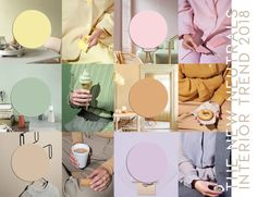 interior color trends 2019 | pastel interiors and more