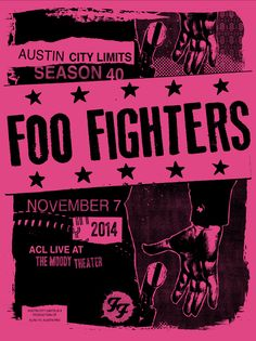 Foo Fighters Austin City Limits by MorningBreathInc.