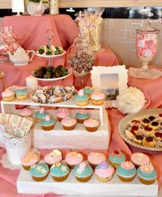 tea party bridalwedding shower party ideas