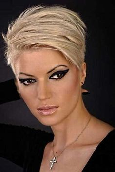 Image result for Short Hairstyles for Women Over 40 2017 Blonde