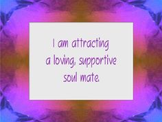 I obtain my soul mate & I helped many with attracting there's   Come & receive your soul mate session today!  Www.trueangelguidance.com