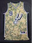 For Sale  - San Antonio Spurs Tony Parker jersey Revolution 30 swingman camouflage
