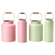 SOCKER Vase, Set of 2 - IKEA (Pink or Green or Both Would Be Great)