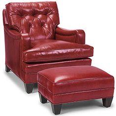 Classic Club Chair U0026 Ottoman