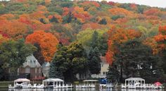 Lake Geneva, WI fall foliage
