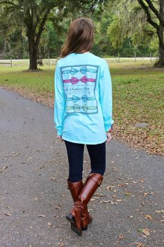 Keep an effortless look in a Southern Prep Tee! Southern Shirt Co, Preppy Southern, Southern Tide, Southern Prep, Southern Marsh, Southern Belle, Cute Fall Outfits, Fall Winter Outfits, Autumn Winter Fashion