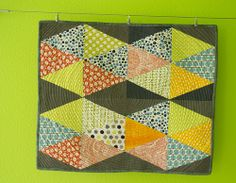 Malka Dubrawsky Scrap box quilt :: all done
