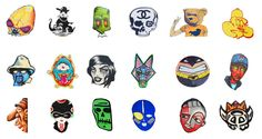 Wouldn't it be fun if there were street art and graffiti emoji?  Here's a set that we came up with.
