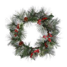 Snow-Dust Decorative Wreath by Celebrate It