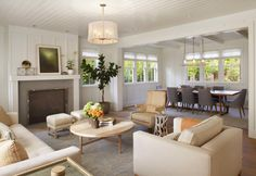 Modern Farmhouse: Living Room 3 Modern Organic Interiors
