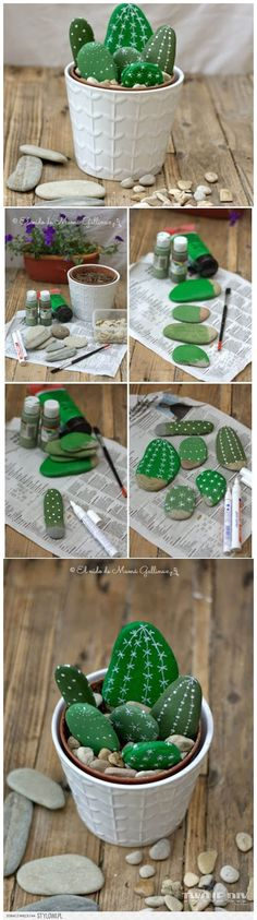 Use Paint to Create a Whimsical Faux Cactus