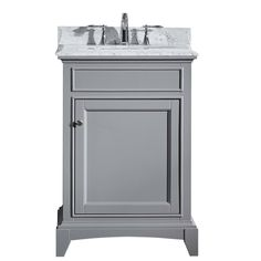 Web Image Gallery Eviva Elite Stamford ud Solid Wood Line Bathroom Vanity is one of the most
