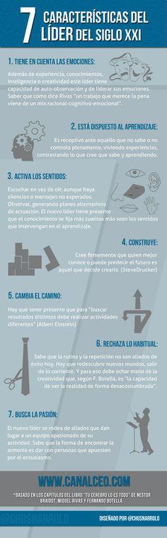 #Infografia #Liderazgo: 7 características del líder del siglo XXI | Canal CEO | Empresa 3.0 | Scoop.it