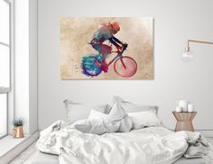 Discover «cycling», Numbered Edition Aluminum Print by Justyna Jaszke - From $59 - Curioos