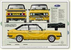 People are angry with Ford because of its scrappage scheme Ford Rs, Car Ford, Retro Cars, Vintage Cars, Ford Motorsport, Ad Car, Ford Classic Cars, Classic Motors, Ford Escort