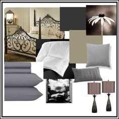 """Master Bedroom Idea"" by kaitlyn-nicolee on Polyvore"