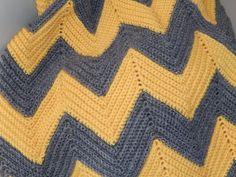 chevron blanket 2