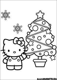 Die 8 Besten Bilder Von Ausmalbilder Christmas Colors Coloring