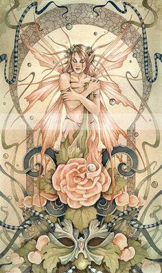 Fairy Muse by Linda Ravenscroft