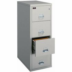 FireKing Four-Drawer Vertical Letter File 4-1831-C Finish: Black, Lock: E-Lock by Fire King. $2505.00. 4-1831-C (black) (w/ E-Lock) Finish: Black, Lock: E-Lock This vertical file adds protection to any office. For a modest one-time investment, you'll rest easier knowing that this popular file is protecting your business. Choose from nine colors to match your office décor perfectly. Keep your records safe and on-hand with UL class 350 1-hour fire protection. This file is su...