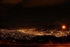 Medellín, my beautiful city! by Alejo, en Vespa, via Flickr Vespa, Traveling, Explore, Concert, City, Beautiful, Night, Colombia, Wasp