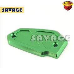 Motorcycle Accessories Front Brake Reservoir Cover Green For KAWASAKI KLE650 Versys 09-15, VN 650 Vulcan 2015