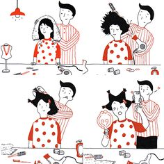 couple in love illustration Love Illustration, Couples In Love, Doodles, Snoopy, Rice, Illustrations, My Love, People, Fictional Characters
