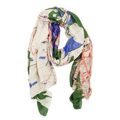 Rigby & Mac New York Map Scarf: Our gorgeous map print scarves are back by popular demand! All are hand screen printed to achieve the depth of colour and pattern and the model and viscose mix fabric makes them absolutely wonderful to wear. The perfect accessory to brighten up any outfit. This map of New York is vibrant and stylish, remeniscent of the city itself.