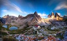 Suisse dolomiten, südtirol, panorama