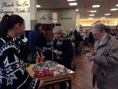 Enjou Chocolat sampling our delicious treats at Kings Supermarkets Grand Re-opening event in Morristown, NJ