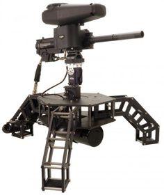 Robotic Paintball Sentry | Let's Make Robots! (Scheduled via TrafficWonker.com)