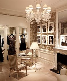 Ralph Lauren's New York flag ship store on Madison Avenue is a dedication to the French style.
