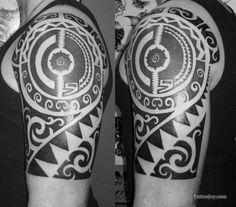 Tribal Maori Polynesian Tattoo Flash Drawings