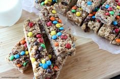 No Bake Granola Bars! The Perfect after school snack!
