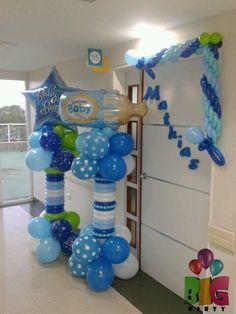 Globos bebe!!! Baby balloons!!! Es un niño!!! It's a boy