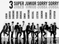 (K-Music) Super Junior - Música - AsianTeam - Powered by Discuz! Leeteuk, Heechul, Super Junior Sorry Sorry, Student Life Yearbook, Programa Musical, Last Man Standing, Korean Star, Korean Music, Tvxq