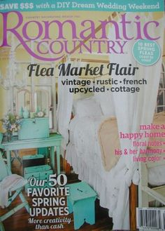 Romanti Country Spring 2015 The Vintage Marketplace at the Oaks one of the best 10 Spring Fleas!