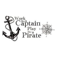 RoomMates RMK2320GM  Work Like A Captain Quote Peel and Stick Wall Decals ** Want to know more, click on the image.Note:It is affiliate link to Amazon. #comment