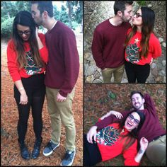 A Very Amandy Christmas  holiday couple pictures
