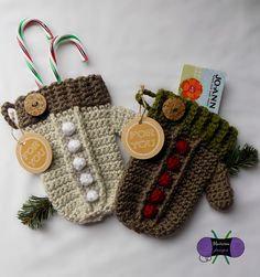 A gift card to their favorite shop in a cute crocheted holder is something most people would love.