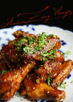 Asian Zing Wings Hi guys! Today I'm sharing amazing wing recipe, Asian Zing Wings! If you love wings and if you have been Buffalo Wild Wings, you probably had or heard about this wings- how amazing and delicious they are! I have made this recipe like 5 y Asian Zing Wings Recipe, Amazing Wings Recipe, Asian Zing Sauce, Buffalo Wild Wings Asian Zing Recipe, Thai Wings Recipe, Asian Wings, Asian Chicken Wings, Asian Recipes, Ethnic Recipes
