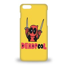 "Apple Iphone 6 6s 4.7"" dead pool Phone case anime Hard shell cover – Goolcase"