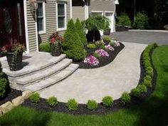 37 Garden Edging Ideas: How To Ways For Dressing Up Your Landscape 2018  Landscape Ideas For Backyard Sloped Backyard Ideas Small Front Yard  Landscaping ...
