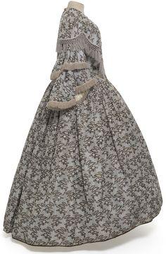 Robe en deux parties, France, vers 1855 - Les Arts Décoratifs