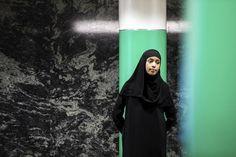 Maryam Abdulkari puhuu asiaa. Mediakriittisyys, eduskuntavaalit 2015, viihdeohjelmat.
