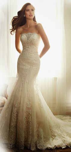 Best #Wedding Dresses of 2014 ~ Sophia Tolli | bellethemagazine.com