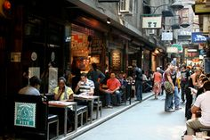 Centre Place - Melbourne Australia  Thriving local business - in a non managed space