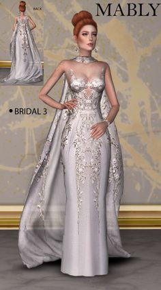 Long Mermaid Dress The Sims 4 _ - Clove share Asia Sims 4 Mods Clothes, Sims 4 Clothing, Sims 4 Dresses, Gala Dresses, Sims 4 Wedding Dress, Wedding Dresses, Vetements Clothing, The Sims 4 Cabelos, Sims4 Clothes
